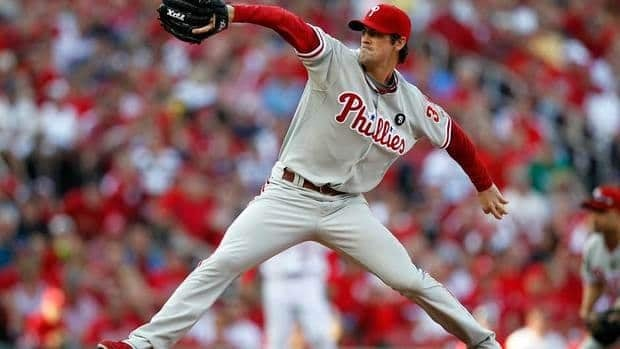 Cole Hamels finished fifth in Cy Young Award voting last year.