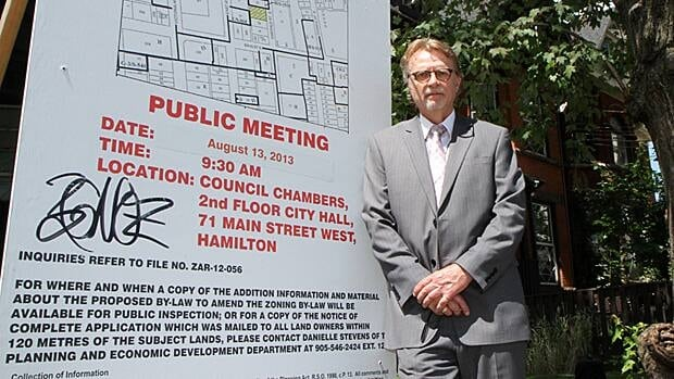 John Clinton of St. Leonard's Society says residents of a lower-city neighbourhood that houses a halfway house received ample notice of a zoning change, and no one objected. The city will revisit the issues on Oct. 1.