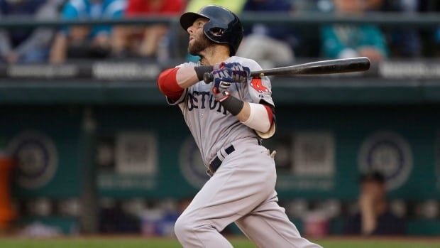 Boston Red Sox second baseman Dustin Pedroia was the AL Rookie of the Year in 2007 and AL MVP in 2008.