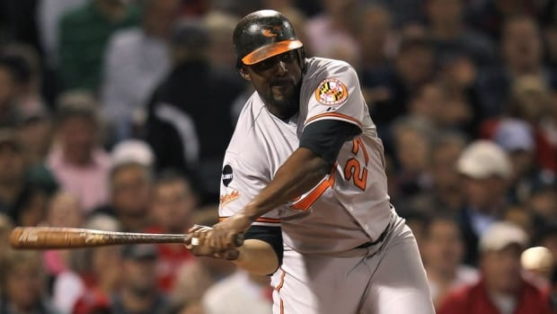 Vladimir Guerrero hit .290 with 13 home runs and 63 RBIs in 145 games with the Baltimore Orioles last season.