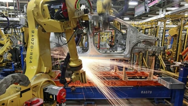 Manufacturing jobs lost 48,000 jobs last month. Many came in hard-hit Ontario.