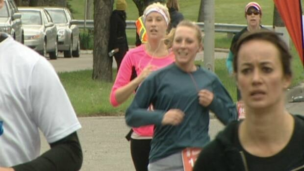 More than 11,000 participants came out for the Scotiabank Calgary Marathon.