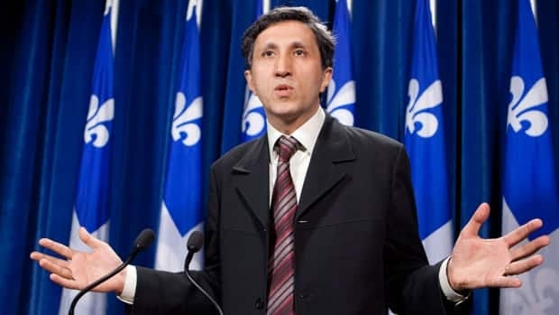 Québec Solidaire co-leader Amir Khadir is the party's only member to have been elected at the national assembly.