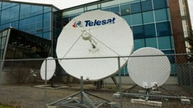 Telesat's corporate headquarters is shown in Ottawa. The company says a software glitch was responsible for Thursday's long-distance phone and internet service outage in communities across the north. (Fred Chartrand/Canadian Press)