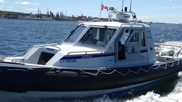 RCMP vessles will be monitoring the harbour during the Tall Ships Festival.