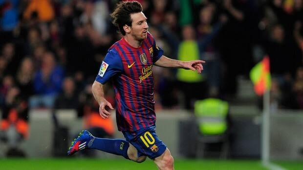 Barcelona star forward Lionel Messi has scored a record 46 goals in the Spanish league plus 14 in the Champions League, three in Spanish Super Cup, two each in the Club World Cup and the Copa del Rey, and one in the UEFA Super Cup.