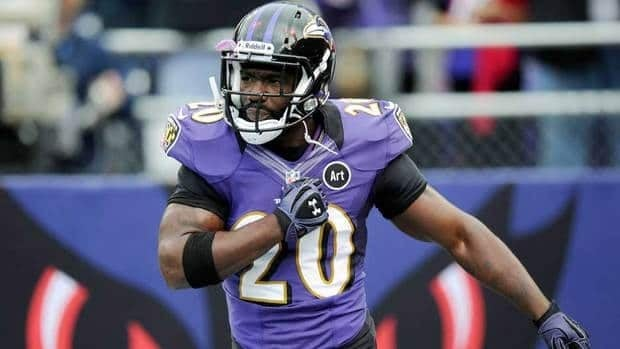 Baltimore Ravens free safety Ed Reed was fined $55,000 US by the NFL on Friday.