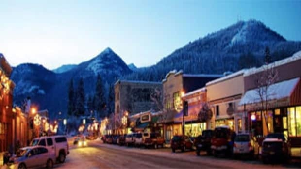 The Kootenay communities of Nelson and Rossland, shown here, were jointly voted the best ski town in an online contest held by Powder Magazine.