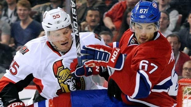 Northeast Division rivals Montreal Canadiens and Ottawa Senators will open their 2012-2013 NHL season Oct. 11 on CBC and CBCSports.ca