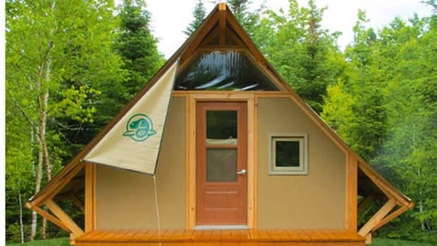 oTENTik Parks Canada c& sites include semi-permanent structures with bunks tables chairs & Glamping takes off at P.E.I. National Park - Prince Edward Island ...