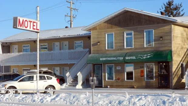 Yellowknife RCMP are investigating the death of a 25-year-old man at the Northern Lites Motel Wednesday.