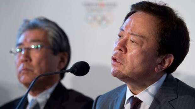 Naoki Inose, right, said Tokyo's bid for the 2020 Olympics is unaffected by Fukushima's nuclear leak.