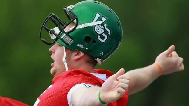 The only way the Roughriders trade the top pick in this year's CFL draft, expected to be Saskatchewan lineman Ben Heenan, is if another team is willing to surrender a Canadian starter and additional picks, according to GM Brendan Taman.