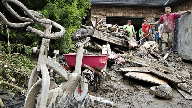 The city is one step closer to approving a property tax relief program for Calgarians badly affected by last summer's flooding.