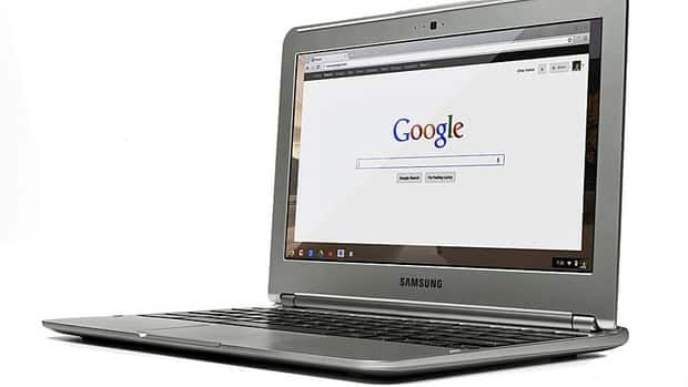 Google officially introduced Chromebook, a laptop built to use the web, to Canada Tuesday for users who who spend most of their time on a computer using the internet.