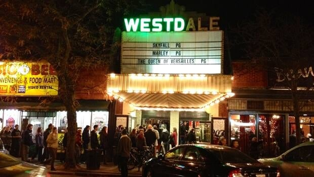 The old Westdale doesn't get line-ups like this every night. As for the A, L and E, they surrendered quite some time ago.