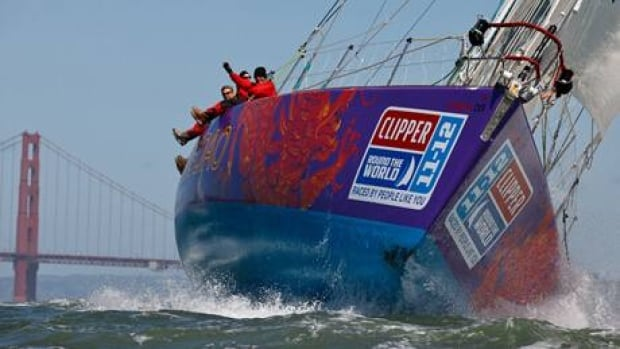 Qingdao yacht in the Clipper 11-12 Round the World Race.