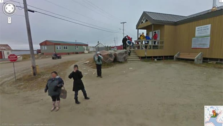 Google Street View Goes Live In Cambridge Bay Nunavut Cbc News
