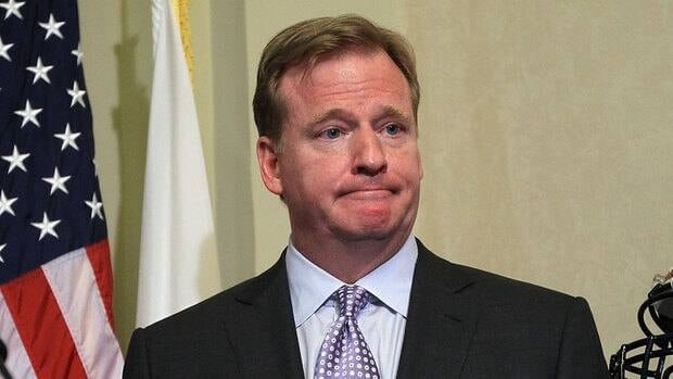 NFL commissioner Roger Goodell met with Will Smith and Anthony Hargrove Tuesday.