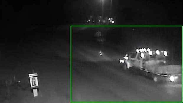 Thompson RCMP released this photo of a vehicle of interest in a $110,000 nickel theft.