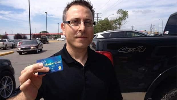 David Bojic's debit card was skimmed at a Regina food court debit machine. More than $1000 was taken from his account.