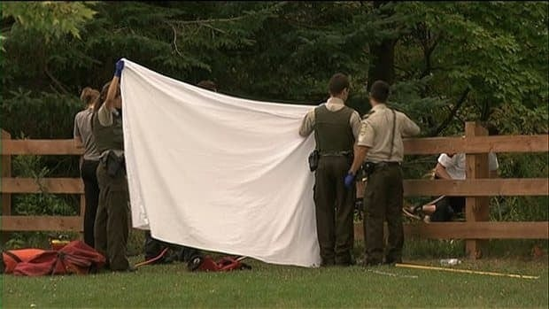 Police found the body of a woman who drowned in Dorwin Falls.