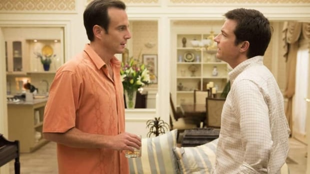 Will Arnett, left, and Jason Bateman in the revamped Arrested Development on Netflix. Netflix said it recruited 630,000 new subscribers in the second quarter.