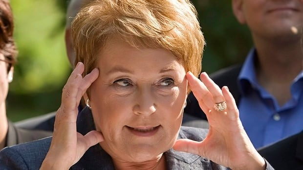 Pauline Marois said she would strengthen Quebec's language law within her mandate's first hundred days.