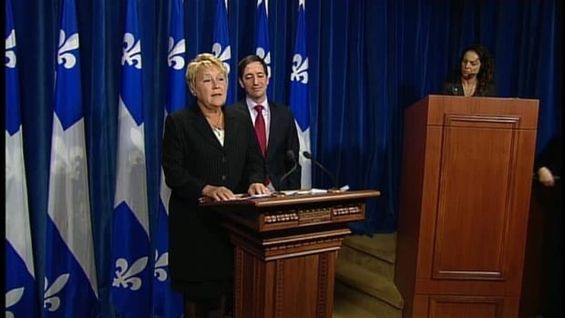 PQ Leader Pauline Marois has been outspoken about Ottawa's plan to scrap the long-gun registry.