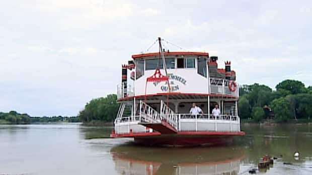 The Paddlewheel Riverboat (shown) and the MS River Rouge could begin taking Blue Bombers fans to and from games as soon as July 26.