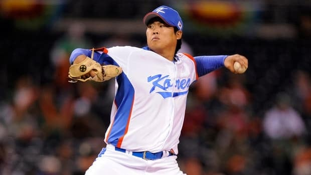 Ryu Hyun-jin represented the South Korean teams that won a gold medal at the Beijing Olympics in 2008 and reached the championship game of the 2009 World Baseball Classic.