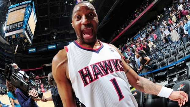 Tracy McGrady averaged 19.6 	points and 5.6 rebounds in 938 games over 15 NBA seasons.