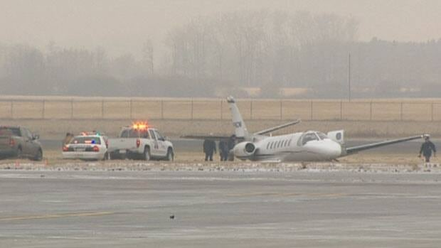 Investigators are trying to find out what led to a crash landing at the Edmonton International Airport Tuesday morning.