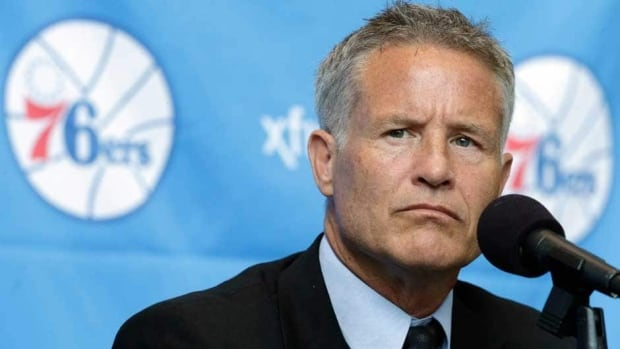 Philadelphia 76ers incoming head coach Brett Brown replaces Doug Collins in the role.