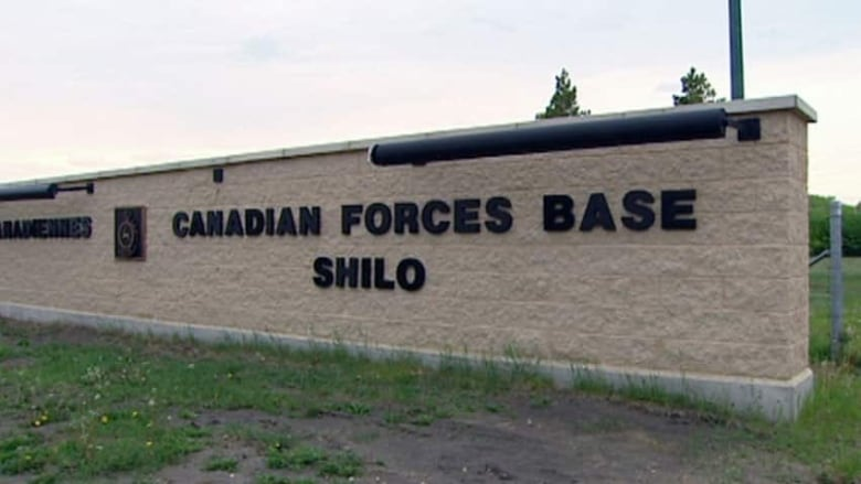Retired Shilo soldier demoted in rank for 'disgraceful' incident at base party Hi-cfb-shilo-sign-file