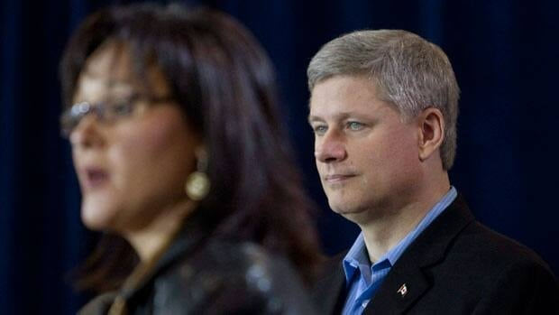Prime Minister Stephen Harper is expected to make an announcement about aboriginal education in Iqaluit thursday, along with Nunavut member of Parliament Leona Aglukkaq. This is the second time Harper has visited the North during the winter - the last time was a trip to Whitehorse in 2007.