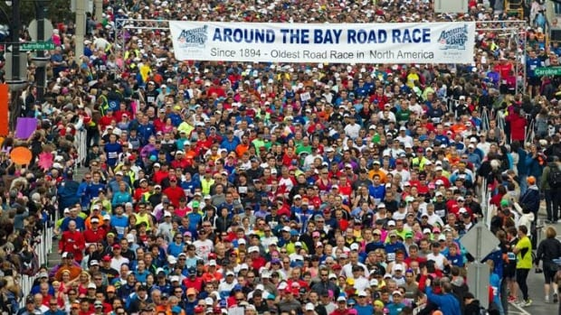 Around 13,000 runners, including Ontario Premier Kathleen Wynne, are expected to participate in Sunday's Around the Bay Road Race.