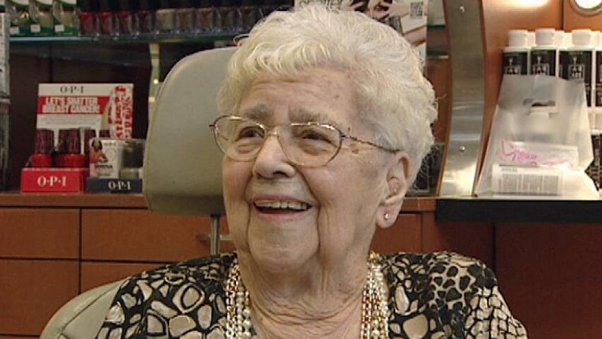 Very very old granny