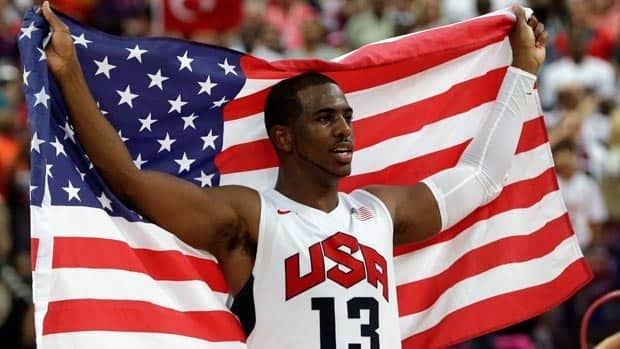 Chris Paul helped the U.S. won Olympic gold in London despite a nagging thumb injury.
