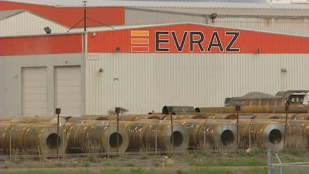 Layoffs at Regina's Evraz steel plant take effect on May 17.