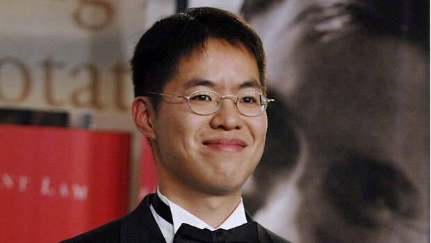Vincent Lam, seen after winning the 2006 Giller Prize, is nominated for a Governor General's Literary Award for his latest novel The Headmaster's Wager.