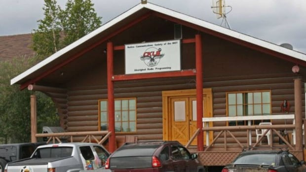 CKLB radio, a Yellowknife-based aboriginal broadcaster, has been broadcasting nothing but pre-programmed country music and ads from the South since it went off air last August, despite receiving almost half a million dollars in federal funding since then.