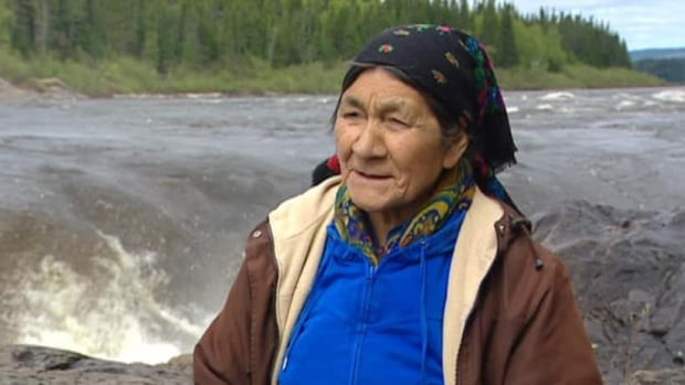 Elizabeth Penashue fears a dam at Muskrat Falls will permanently harm the ecology of the Churchill River and traditional Innu lands nearby.