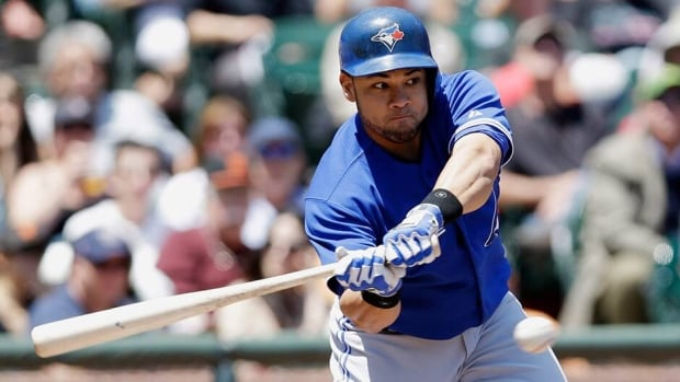 Toronto Blue Jays' Melky Cabrera signed a two-year, $16 million US contract with Toronto in the off-season. He finished this season with a .279 average and three home runs and 30 RBIs in 88 games.