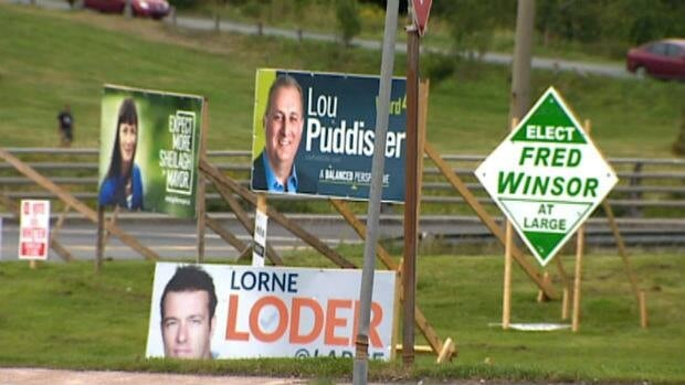 Election signs are easy to see around St. John's this month; are younger voters paying attention?