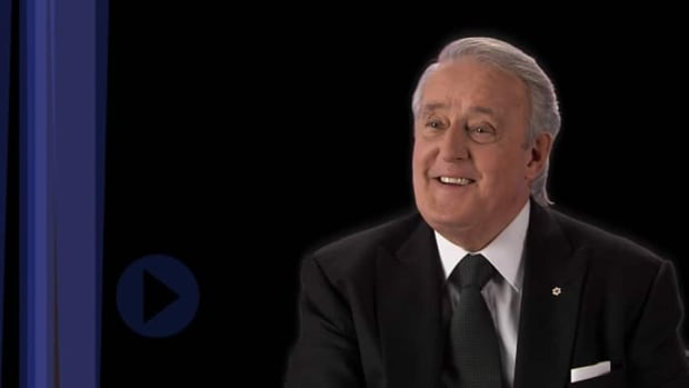 Former Canadian prime minister Brian Mulroney is the subject of a four-hour documentary airing on Radio-Canada.