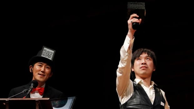 Last year's Ig Nobel prize winners included Kazutka Kurihara and Koji Tsukada, inventors of the Speech Jammer, a device that disrupts a person's speech by making them hear their own spoken words delayed by a few hundred milliseconds.