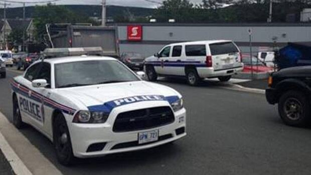 The RNC is investigating some unusual activity at a bank in the west end of St. John's.