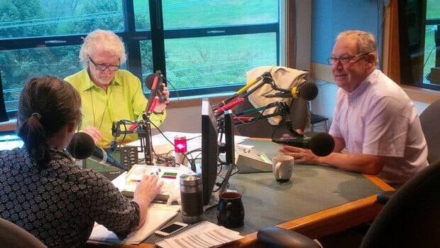 Don Connolly and Darrell Dexter talked about the leader's plans for the future if re-elected.