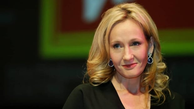 Author J.K. Rowling, seen here in London on Sept. 27, 2012, will pen the screenplay of a new series of films based on the Harry Potter spinoff Fantastic Beasts and Where to Find Them.